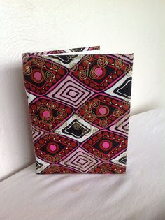 African wax Print Woodin Journal/Notebook by AfroStyleCheck, $25.00
