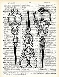 victorian scissors 2