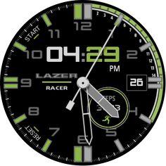 LAZER RACER DELUXE - GREEN