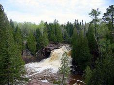 Gooseberry Fals State Park in Minnesota