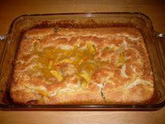 Easy peasy Southern dessert idea - peach cobbler!