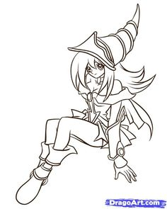 Yugioh Coloring Pages - http://fullcoloring.com/yugioh-coloring-pages.html