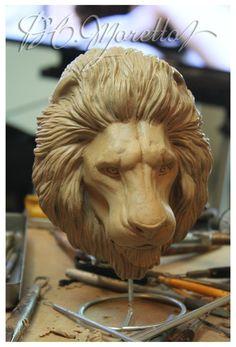 Lion Head by Pedro-Moretto on DeviantArt