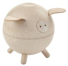 Plan Toys | Spaarvarken wit