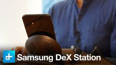 Samsung's DeX Station envisions a future where your smartphone can replace your desktop. It's capable enough to work with for short periods of time, but if y. Samsung 8, Hands, Phone, Telephone, Phones