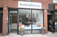 Desmond & Beatrice has finally opened its long-awaited shop at Queen and Broadview, and it's already selling out of its famous cupcakes before close. Great Places, Ontario, Toronto, The Neighbourhood, Cupcake, Architecture, House, Home Decor, Arquitetura