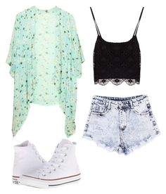"""X"" by lauuraaa-sunshine ❤ liked on Polyvore featuring Converse"
