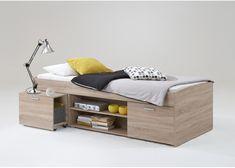 Slim ontworpen en leuk kajuitbed voor een scherpe prijs. Het uitrijdbare nachtkastje is ook handig en zorgt bovendien voor extra bergruimte.