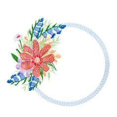Flower Bouquet Frame
