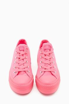 Converse All Star Platform Sneaker in Pink