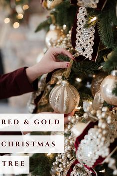 Red and Gold Christm