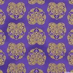 Valley of the Kings 2 - Golden Papyrus - Amethyst Purple/Gold