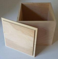 Wood Box With Lid Box Keepsake Handmade Wooden Box and Lid … - Decorative Boxes Wooden Box With Lid, Diy Wood Box, Wood Gift Box, Storage Boxes With Lids, Wooden Storage Boxes, Diy Box, Wood Boxes, Lid Storage, Wooden Box Plans