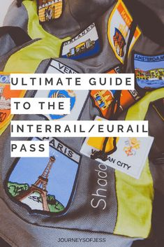If you're travelling through Europe I think the best way is the Eurail/interrail pass! Me and ed had one for 3 weeks and travelled on trains for 10 days. It allows you to travel anywhere in Europe at any time and you can hop on any train you fancy or plan Travel Through Europe, Europe Travel Tips, European Travel, Travelling Europe, European Vacation, Budget Travel, Italy Travel, Interrail Europe, Viajes