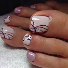 We have found the Best Toe Nail Art! Below you will find 53 Best Toe Nail Art Designs for 2018! Keeping your toes polished is a must, especially during the warmer seasons because you are likely wearing open toed shoes or flip flops. Being creative with your toes is fun for the summer and for the pool. #nailart