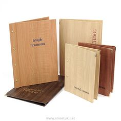 Wood-effect Menu Covers - Smart Hospitality Supplies