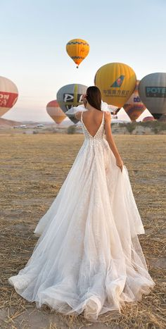 Sleeveless v back a line wedding dress : Eva Lendel Wedding Dress #weddingdress #wedding #weddinggown