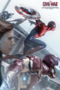 Poster Fan : Captain America: Civil War