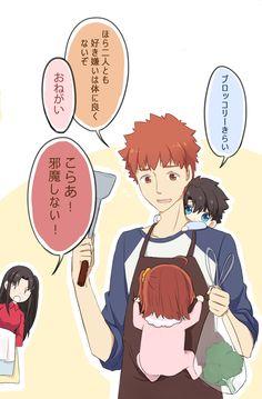 Comic Manga, Anime Manga, Anime Art, Fate Stay Night Rin, Fate/stay Night, Tohsaka Rin, Shirou Emiya, Romance Comics, Fate Servants