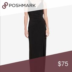 Lauren Ralph Lauren Jersey Gown This item has been previously worn only one time and is in great condition. Great for a wedding or formal event. Great fit and very comfortable for a dress! Lauren Ralph Lauren Dresses Maxi