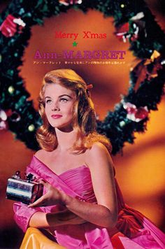 Rare Ann-Margret CHRISTMAS vintage 60's Japan mag clipping (minkshmink)