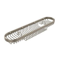 Oval Combination Shower Basket, Antique Pewter - (In No Image Available)