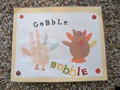 Preschool Crafts for Kids*: Thanksgiving Turkey Placemats Craft