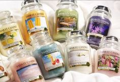 Candles- I just love candles.. lots of them. We are ALWAYS burning at least one in our house!