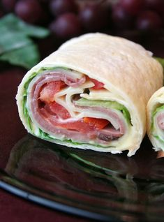 How to Make a Sandwich Wrap | Recipes and Instructions for Making Sandwich Wraps with Tortillas