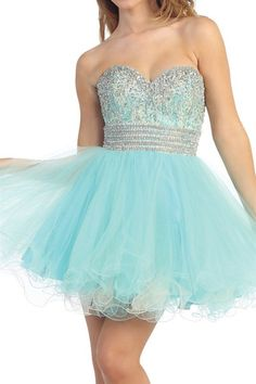 Turquoise Prom Dresses, homecoming dresses, formal dresses, party dresses, cute dresses, short prom dresses, sweetheart dresses, jeweled dresses