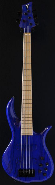 F Bass BN5 string bass (2012) (via Bass Direct)