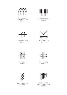 Visual identity of Kaunas 1st music school on Behance