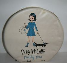 Vintage 1950s Betsy McCall PRETTY PAC Travel Doll Case