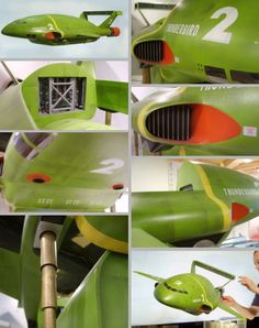 Building Thunderbird 2 from Gerry Andersons classic Thunderbirds television series Timeless Series, Thunderbirds Are Go, Star Trek Characters, Sci Fi Models, Batmobile, Retro Toys, Retro Futurism, Classic Toys, Scale Models