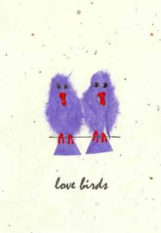 Love Birds These little lovers are just perfect for a wedding engagement or anniversary. http://www.origin-cards.co.uk