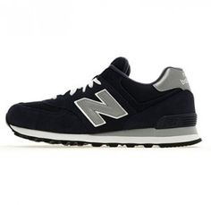 new balance 574 baskets bleu marine