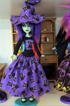 monster high halloween outfit , clothes witch