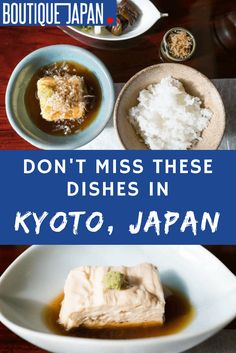Kyoto Food: What to Eat When You Visit Kyoto, Japan Japan Travel Guide, Asia Travel, Japan Guide, Visit Japan, Specialty Foods, Kyoto Japan, Best Places To Eat, Foods To Eat, Japanese Food