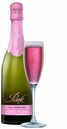 PINK champagne for getting ready with bridesmaids! Must do!    This one is a given, I dont really need to pin it but it deserves a place on my wedding board.  I dont think it will be just the morning of the wedding though!