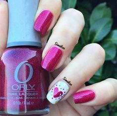 Adorable Valentine's Day Nail Ideas - Crafty Morning