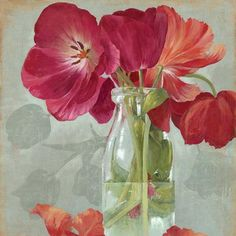 Glass flowers II - Asia Jensen