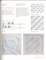 Schwalm Whitework: The Exquisite Regional Embroidery Of Germany Hardanger Embroidery, Paper Embroidery, Hand Embroidery Stitches, White Embroidery, Embroidery Patterns, Drawn Thread, Thread Work, Crochet Doily Patterns, Crochet Doilies