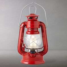 Buy Scouting LED Lantern, Red, Small from our Decorative Garden Accessories range at John Lewis & Partners.