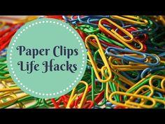 20 Amazing Binder Clips Uses, Life Hacks & Tricks - YouTube