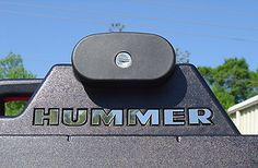 Hummer H2 Chrome Roof Rack Letter Kit, self adhesive, FREE SHIPPING