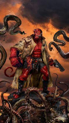 Hellboy by John Gallagher