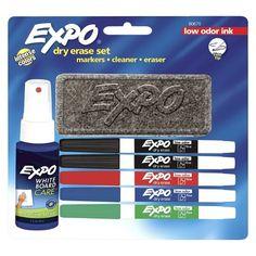 Dry Erase Marker 7 ct Black Fine EXPO (071641806757) Dry erase marker 7 ct black fine expo