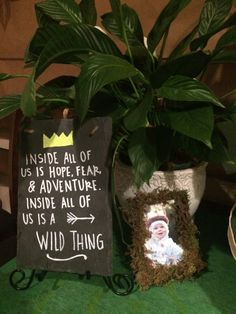 """I am just so happy with how this party turned out! When thinking about themes for Jackson's big """"1,"""" I was thinking about the day before he was born that Jacob and I went on a spe…"""
