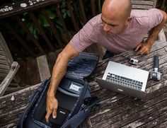 Carry your #GoPro and #iPad comfortably on the go with the Kelly Slater Action Camera Pro Pro #Backpack.