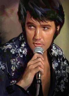 ♥ Elvis Art
